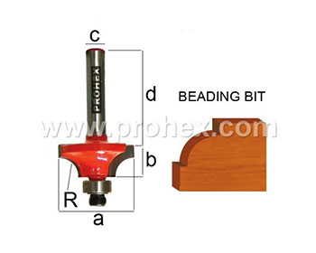 Router Bits 302 Series ( Two Flute ) Ball Bearing Guide