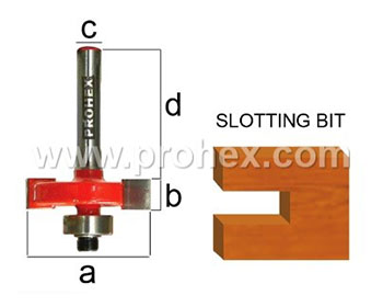 Router Bits 307 Series ( Two Flute ) Ball Bearing Guide