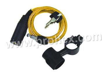 Kunci Sepeda Kabel Roll
