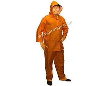 Jas Hujan Orange ( Tebal )