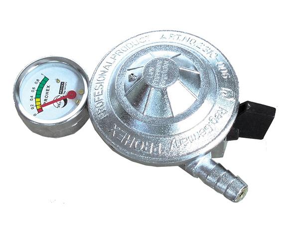 Regulator LPG Crom w/ Meter
