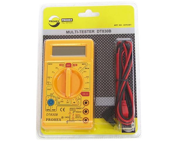 Multi Tester Digital DT830B